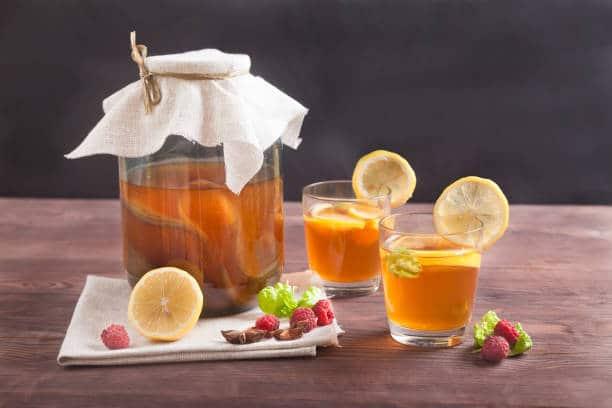 consommation kombucha boisson effets secondaires danger