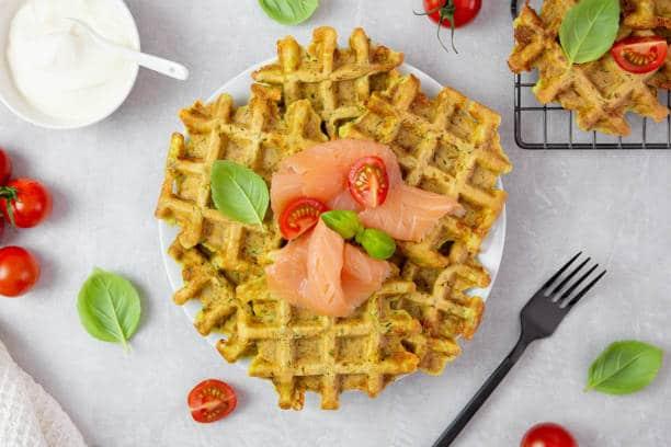 galette saumon courgette réequilibrage alimentaire pour maigrir