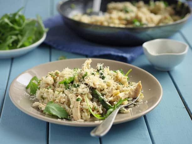 risotto recette minceur réequilibrage alimentaire