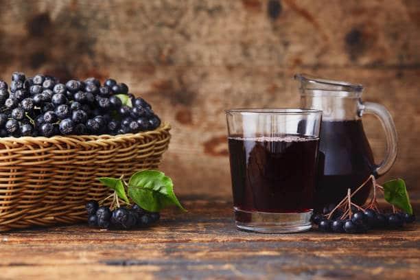 cocktail jus aronia naturel bienfaits santé