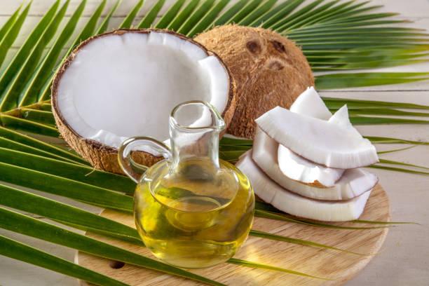 huile de coco cuisine maigrir rapidement sans sport