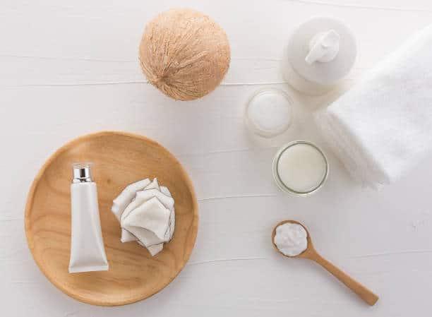 huile coco acne visage dos soin naturel
