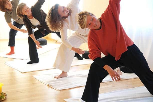 Yoga vinyasa pratique débutants yogis avancés