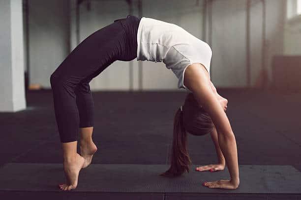 asana yoga position inversée exercice