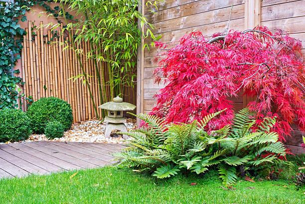 coin jardin zen maison détente méditation yoga