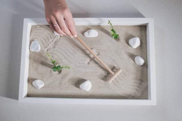 jardin zen détente calme relaxation maison