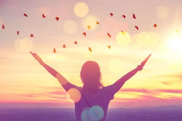 pensée positive bonheur psychologique positif