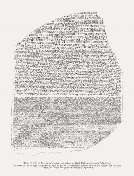 Pierre de Rosette : Découverte et origine des hiéroglyphes
