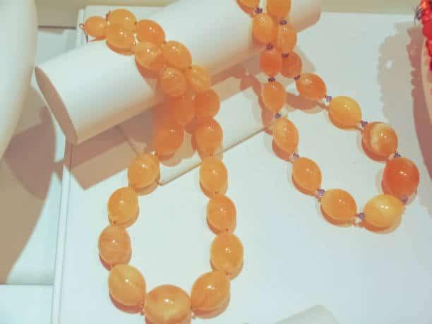pierre du soleil collier bracelet