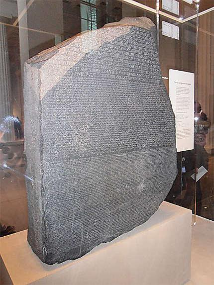 stele pierre de rosette