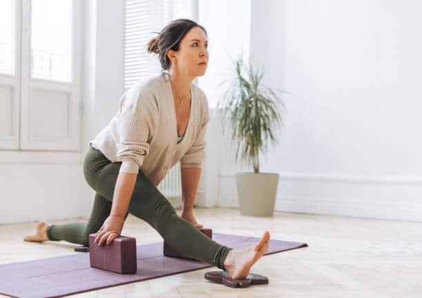 yoga iyengar type de yoga relaxant